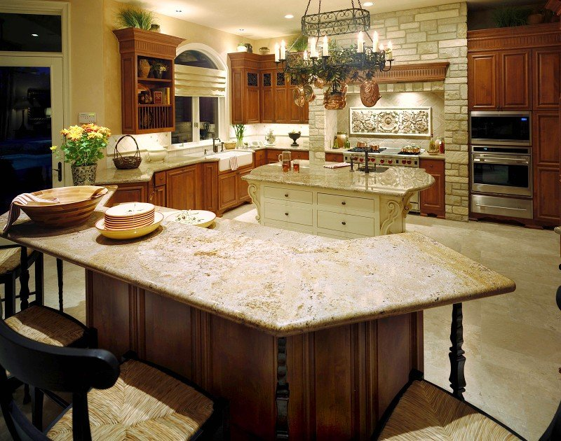 Natural Stone Countertops : Natural stone kitchen countertops granite counters