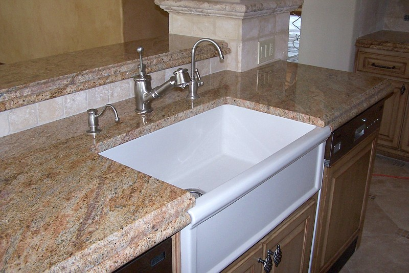 Counter Top Sink Installation Corian Countertop Cleaning